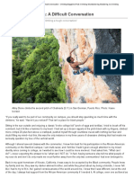 lifework article 614 diversity in climbing a difficult conversation