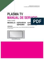 Lg Plasma 42px4rvh