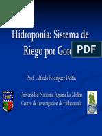 5hidroponia Riego Goteo