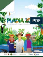 Cartilla didáctica Plan de Desarrollo Integral AndinoAmzónico PLADIA2035
