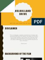 Mulholland Drive (PPT)