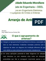 7. Arranjo de Antenas