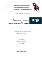 Diodos Semiconductores y Resistencias
