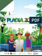 Tomo II. Plan de Desarrollo Integral AndinoAmazónico PLADIA2035