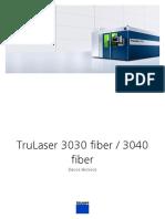 TruLaser 3030 Fiber %2F 3040 Fiber