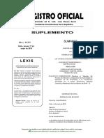 RegistroOficial Ley General de Desarrollo Fronterizo
