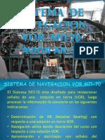 Sistema de Navegacion Vor An32-b