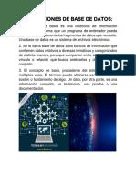 Base de Datos Kasi 201