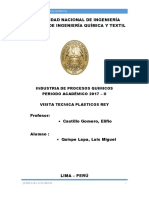 Quispe Lapa- Visita Tecnica Plasticos Rey