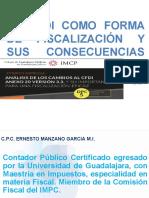El Cfdi Fiscalizacin y Su Consecuencias Para Proyeccin-1 (1)