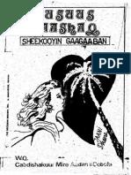 Xusuus Caashaq_sheekooyin Gaagaaban