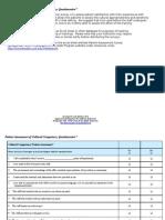Patient Assessment Survey