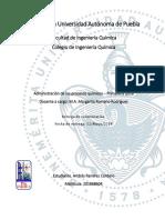 Custionario Administración de los Procesos Quím.