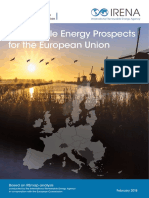 Renewable Energy Prospects for the European Union 2017 - Irena