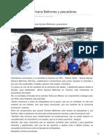 13/02/2018 Hacen alianza Sylvana Beltrones y pescadores