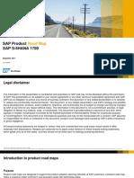 SAP S/4HANA 1709 Product Roadmap