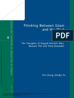 Thinking Between Islam and the West ---- (Cover)