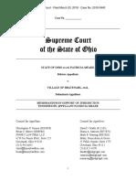 Meade v. Bratenahl Memo in Support of Jurisdiction
