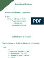6. Mathematics of Finance.pptx