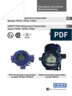 WIKA TIF52 Temperature Transmittter