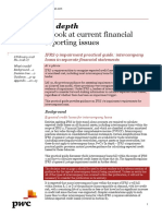 IFRS 9 Impairment Intercompany Loans in Separate Financial Statements PwC