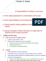 Lecture Ch 9 Safety