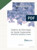 Caderno de Informação Da Saúde Suplementar 2015
