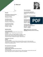 Pedro Amar Mercuri - CV Junio