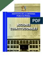 Modulo Acciones Constitucionales