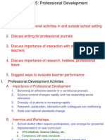 Lecture Ch 15 Professional Development