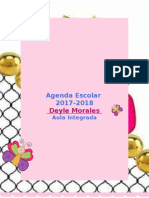 Agenda Aula Integrada º108 Deyle Morales Creación Proyectos Creativos-2017
