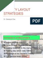 3.2 Facility Layout Strategies