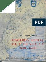 Mora Merida Historia Social Del Paraguay