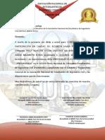 Membretado COREDFEE Sur
