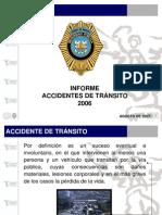 estadisticas de los accidentes de transito en la zona metropolitana