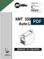 Manual Máquina de Solda Mig - Miller - Xmt 350 Mpa Auto Line
