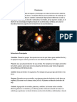 El Universo y Su Estructura