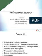 EXPO 3 Metalogénesis Del Peru. 17.