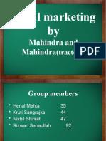 mahindra and mahindra tractors