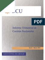 Informe Primer Trimestre BCU