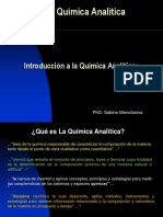 1. Unidad 1. a) Introducción a La Quimica Analitica