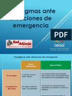 Paradigmas Situaciones de Emergencia