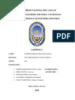 Logística, clasificación y principales indicadores.