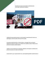 Decizie Fără Precedent - Căsătoriile Homosexuale Au Fost Anulate În Insulele Bermude, Respectându-se Voința Poporului După Ce Parlamentul Le Legalizase