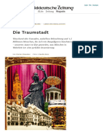 München, die Traum(tänzer)stadt - 2018 SZ