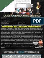 La Ética en La Universidad