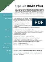 Cv Jorge Davila 2018