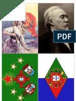 Centenário da República em Portugal - Postais comemorativos 3