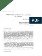 Almirón Jiménez (1989) - Noticias Del Convento de La Merced de Cazorla