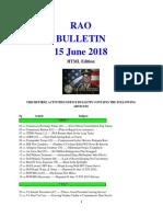 Bulletin 180615 (HTML Edition)